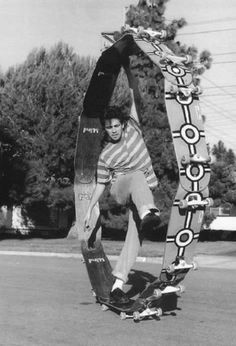 The Gonz and his Ferris Wheel lol #skateboarding