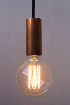 Copper Pipe Pendant Light by NUD - create a dynamic industrial design statement - Fat Shack Vintage - Fat Shack Vintage