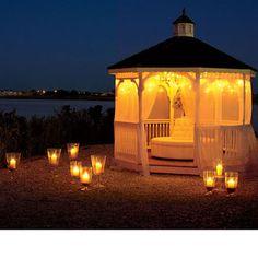 candlelight gazebo