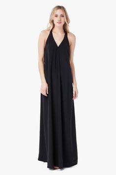 Silk Maxi Dress