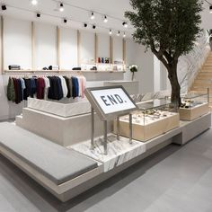 Brinkworth uses mirrors and marble for End Clothing's new Glasgow store
