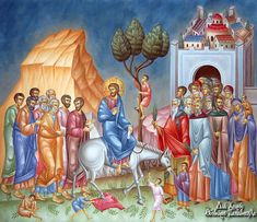 Patrick Comerford: Palm Sunday, Holy Week and Easter in the Rathkeale. Trinidad, Gospel Reading, Palm Sunday, Byzantine Icons, The Son Of Man, Early Christian, Holy Week, Religious Icons, Spirituality