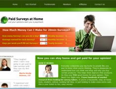 Paid Surveys at home, how to make money at home with surveys www.fairedelargentsurinternet.com/paid-surveys-at-home/