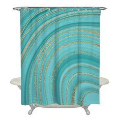 Luxury Shower Curtain, Gold Shower Curtain, Bathroom Curtains, Shower Curtains, Rock Shower, Marble Showers, Black Curtains, White Shower, Minimal Decor
