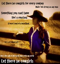 CHRIS CAGLE - LET THERE BE COWGIRLS LYRICS
