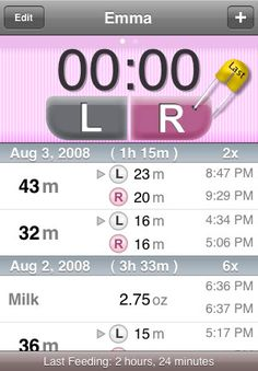 I don't know about the others, but I absolutely LOVE the Total Baby App! I have used it for six months and continue to find new things this app can do. It tracks feedings, diapers, naps, and much more! Even better, it provides summary graphs and charts that can be emailed. It is a great way to provide accurate information to your pediatrician, especially for the early sleep deprived days when you can't remember what you did 5 minutes ago!