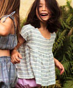 boy+girl Natalie Swing Top, Stripe - shopminikin