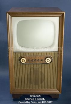Image of ferguson television receiver, type by Science & Society Picture Library