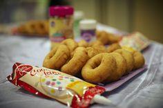 oooo donut decorating! Great party idea!