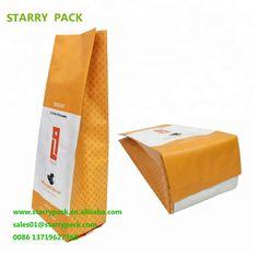 Yellow printed little reusable compostable coffee bags design Compost Bags, Coffee Bags, Yellow Print, Bag Design, Shenzhen, Packaging, Printed, Coffee Sacks, Shopping Bag Design