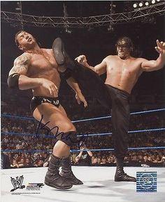 THE GREAT KHALI WWE SIGNED 8x10 PHOTO PHOTOFILE AUTOGRAPH w/ COA
