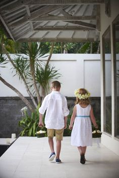 Flower Girl and Page Boy   Lynley Events Bali   www.lynley.net