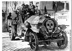 Armoured Vehicles of the Freikorps - Forgotten Futures Military Weapons, Military Art, Military History, Wilhelm Ii, Kaiser Wilhelm, World War One, First World, Ww1 History, Tank Armor