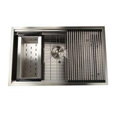 "Found it at Wayfair - Pro Series 32"" x 20"" Rectangle Single Bowl Undermount Kitchen Sink"