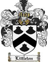 Littleton Coat of Arms / Littleton Family Crest