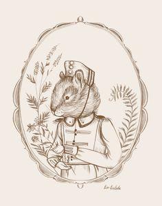 Drawing - Chipmunk