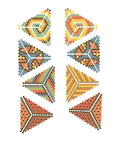 Image result for beaded kaleidocycle