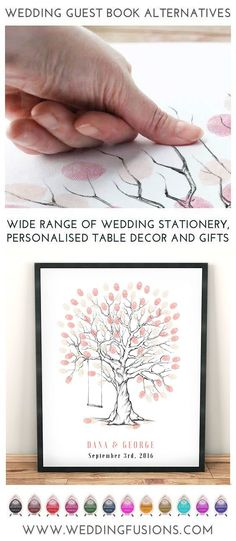 fingerprint tree with bird cage wedding guest book alternative wedding tree guestbook idea Wedding Tree fingerprint tree wedding book Wedding Tree Guest Book, Guest Book Tree, Tree Wedding, Wedding Book, Diy Wedding, Wedding Favors, Wedding Decorations, Wedding Day, Guest Books