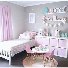 This would be harmony because the colors go together. Also everything in the room matches the pink and gray theme.