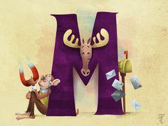 z letter M