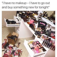 Pin By Beebe On Memes Makeup Humor Makeup Makeup Obsession Makeup Goals, Love Makeup, Makeup Inspo, Makeup Tips, Beauty Makeup, Makeup Products, Beauty Bar, Makeup Humor, Makeup Quotes
