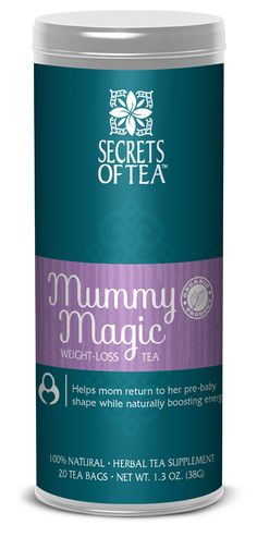 Mummy Magic naturally stimulates the body's metabolism without caffeine. The organic blend also helps increase energy and stamina to keep mother's going without stimulants or sugars. It's a delicious natural pep while returning to your pre-baby shape.