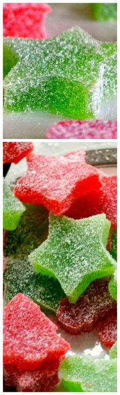 Homemade Gumdrops ~ Made with just a handful of ingredients – including applesauce – these gumdrops are sure to become a holiday tradition... The perfect treat to make for friends and family during the holidays!