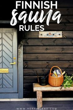 What's the Finnish sauna etiquette? How to use a Finnish sauna? Let a Finn explain what to expect when it comes to enjoying sauna in Finland! Finland Facts, Finland Destinations, Finland Culture, Building A Sauna, Sauna House, Finnish Sauna, Finland Travel, Ireland Landscape, Ireland Vacation