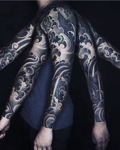 tattoo for men tattoos tattoo tattoo japones tattoo tattoo traditional Japanese Water Tattoo, Japanese Tattoo Art, Japanese Tattoo Designs, Japanese Sleeve Tattoos, Wave Tattoo Sleeve, Tattoo P, Irezumi Tattoos, Forearm Tattoos, Body Art Tattoos