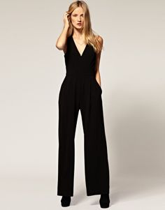 I never would've thought I would want a black jumpsuit. But I do. And badly.
