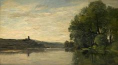 Your Paintings - Charles-François Daubigny paintings
