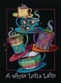 Coffee & Tea Cross Stitch