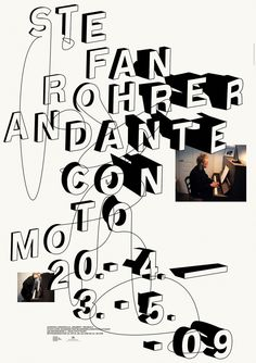 Andante Con Moto - Hubert & Fischer | Graphic Design, Art Direction, Visual Communication