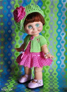 Яркий костюмчик для фейсинки / Одежда для кукол / Шопик. Продать купить куклу / Бэйбики. Куклы фото. Одежда для кукол