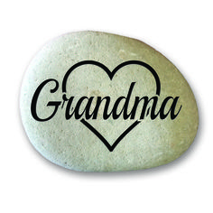 Cluster Set Garden Stone Medium  - Grandma in Heart