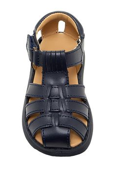 Image of Valencia Imports Sailor Sandal - Wide Width Available (Baby & Toddler)