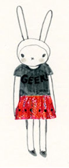 Fifi Lapin wears Luella
