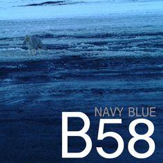 B58, navy blue, blau marí, azul marino. En SNAPCLIC.es