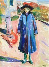 Blue Coat in Sunshine -Edvard Munch - 1922, A4