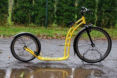 Kickbike for any weather