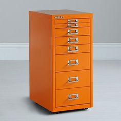 Buy Bisley Non-Locking Under Desk Mutidrawer Online at johnlewis.com