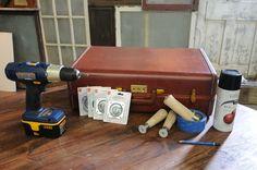 Vintage Suitcase Projects | Vintage Suitcase Side Table - Buildipedia