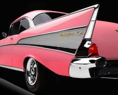 1957 Chevy fins