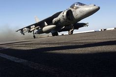 Harrier Jump Jet, is a British-designed military jet aircraft capable of Vertical/Short Takeoff and Landing via thrust vectoring.