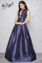 Lace Bodice Formal Gown