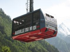Take Europes higest cable car up to Aiguille du Midi 3842m