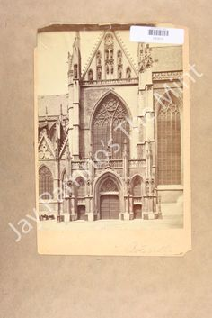 MH839 Photo Cathedral Brussels | eBay