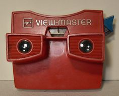 Vintage 1960s GAF Viewmaster Viewer- Ipod of the baby Boomers generation!