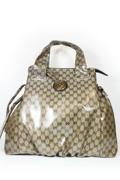 Gucci Handbags Large Beige Brown (coating) Leather « Clothing Impulse (a repin favourite of www.vipfashionaustralia.com )