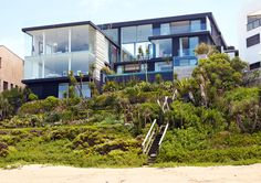 8 Bedroom Beachfront Villa for sale in Wilderness - - 4 Luxury Homes Exterior, Luxury Modern Homes, Luxury Rooms, Exterior Design, Mansions Homes, Country Estate, Pool Houses, Black House, Custom Homes